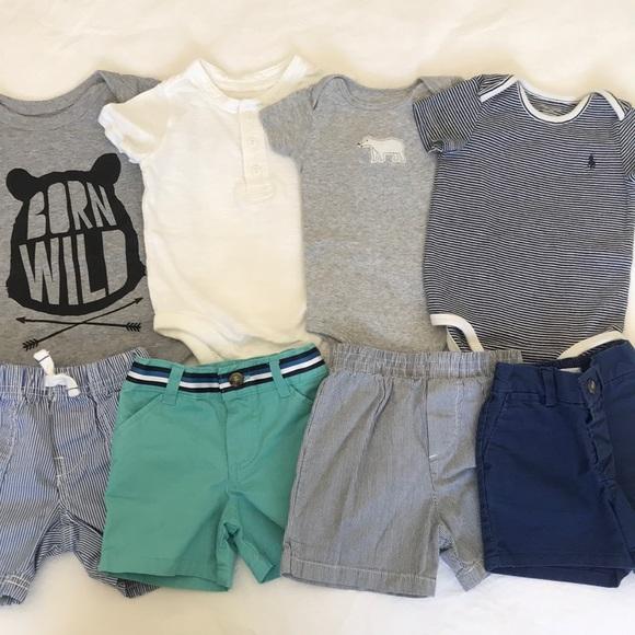 ac4ac328b6f1 Summer baby boy onesie and shorts set. M 5aa58e549a9455981cf2e2a8